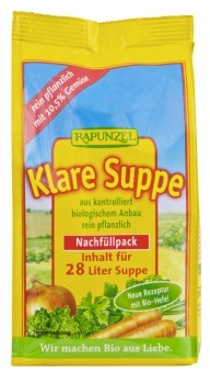 Rapunzel Klare Suppe, mit Bio-Hefe bio 500g