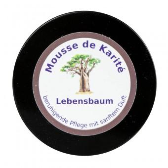 Rosenrot Mousse de Karité  Lebensbaum