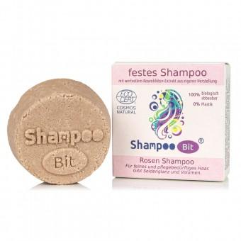 Rosenrot festes Shampoo Rose (feines Haar)