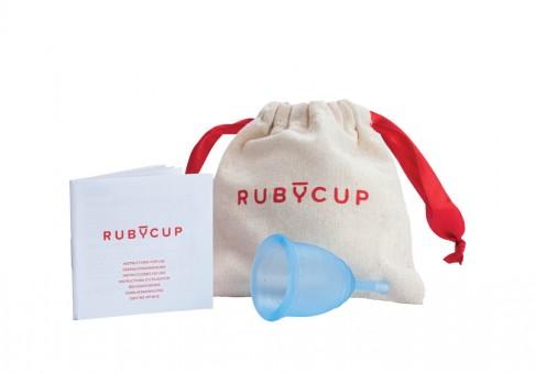 Ruby Cup Menstruationstasse M – blau