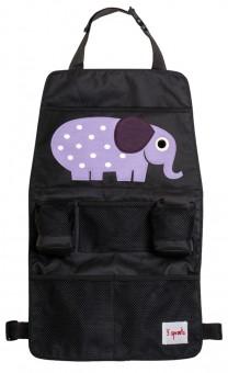 3 Sprouts Rücksitz Organizer Elefant
