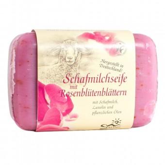 Saling Schafmilchseife Rosenblüten