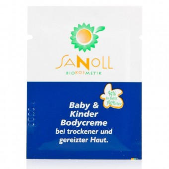 Sanoll Baby & Kinder Bodycreme Probe