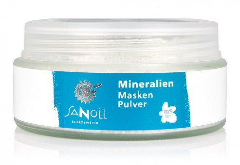 Sanoll Mineralien MaskenPulver