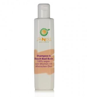 Sanoll Shampoo Grundlage (Shampoo & Duschbad Basis) 200ml