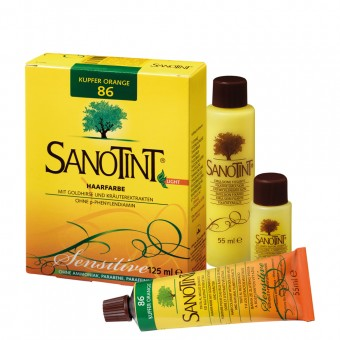 Sanotint Haarfarbe sensitive light Nr.86 Kupfer Orange