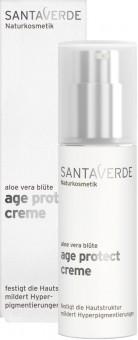 Santaverde Aloe Vera Blüte Age Protect Creme