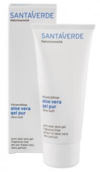 Santaverde Aloe Vera Gel Pur ohne Duft 100ml
