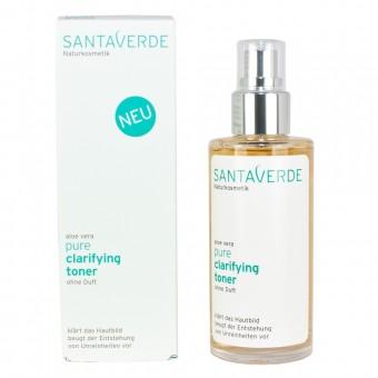 Santaverde Aloe Vera Pure Clarifying Toner ohne Duft