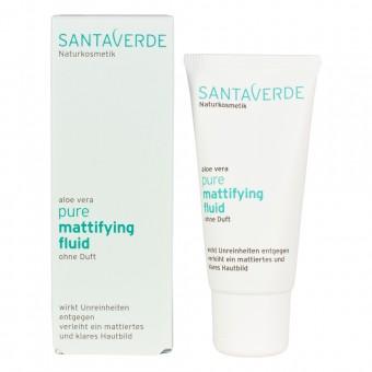 Santaverde Aloe Vera Pure Mattifying Fluid ohne Duft