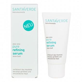 Santaverde Aloe Vera Pure Refining Serum ohne Duft