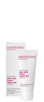 Santaverde Aloe Vera hydro repair gel ohne Duft