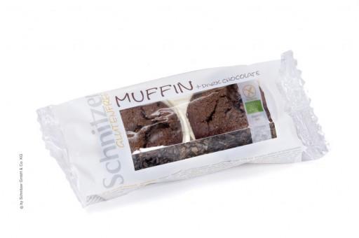 Schnitzer Bio MUFFIN + DARK CHOCOLATE