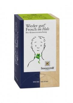 Sonnentor Frosch im Hals Tee Wieder gut! bio (18Btl)