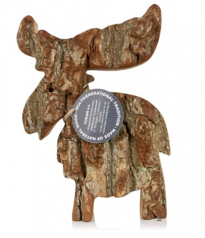 Tukan Holzrinde Elch groß