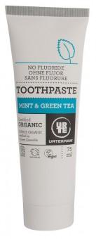 Urtekram Mint mit Grünem Tee Zahnpasta