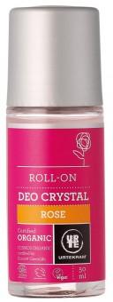 Urtekram Rose Kristall Deo Roll On