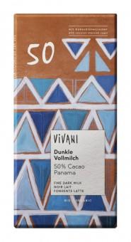 Vivani Dunkle Vollmilch 50% Cacao bio