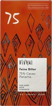Vivani Feine Bitter 75% Cacao bio