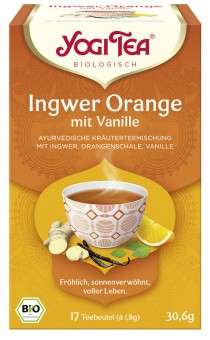 Yogi Tea Ingwer Orange mit Vanille bio (17Btl)