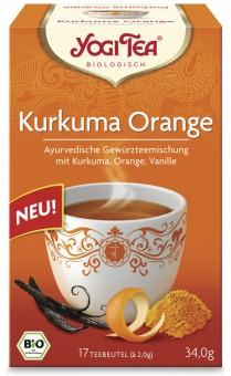 Yogi Tea Kurkuma Orange bio (17Btl)
