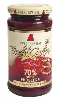 Zwergenwiese Fruchtgarten Erdbeere bio