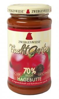 Zwergenwiese Fruchtgarten Hagebutte bio