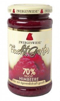 Zwergenwiese Fruchtgarten Himbeere bio