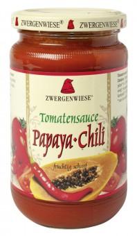 Zwergenwiese Tomatensauce Papaya-Chili bio