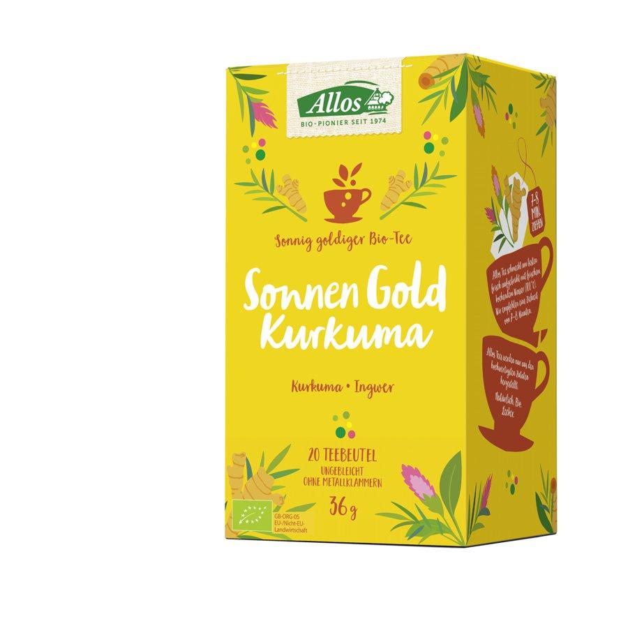 Allos Sonnen Gold Kurkuma Tee Bio Shop Naturpur De