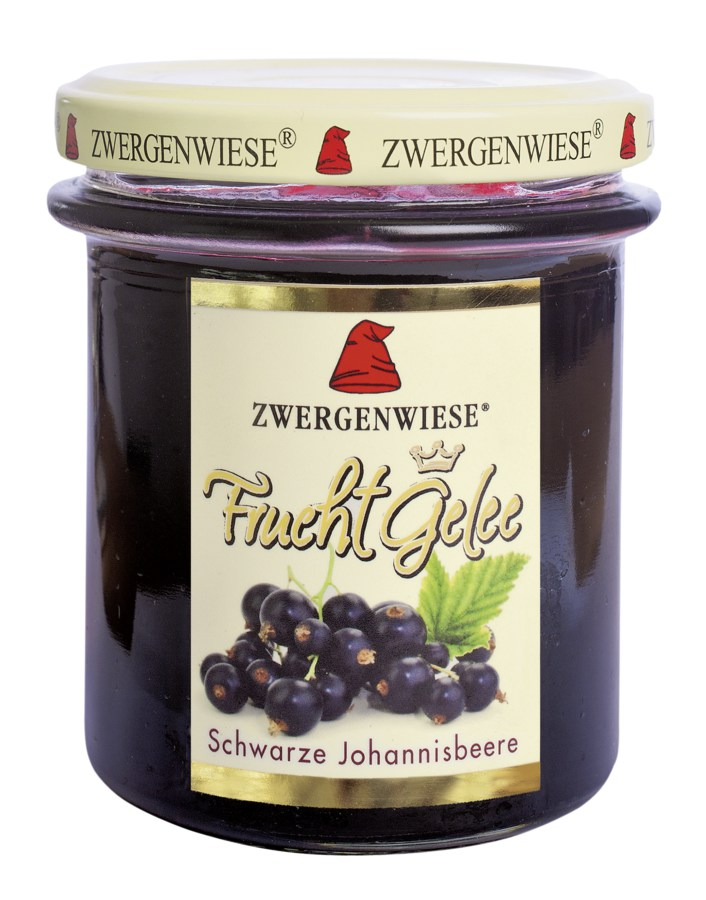 zwergenwiese frucht gelee schwarze johannisbeere bio shop. Black Bedroom Furniture Sets. Home Design Ideas