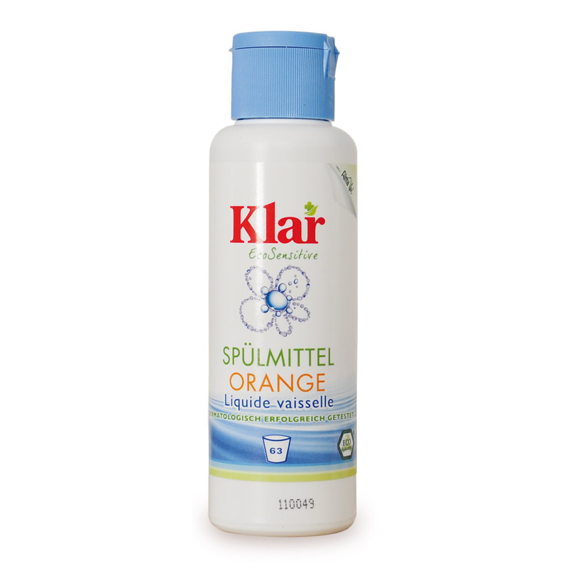 Klar Spülmittel orange - 125 ml