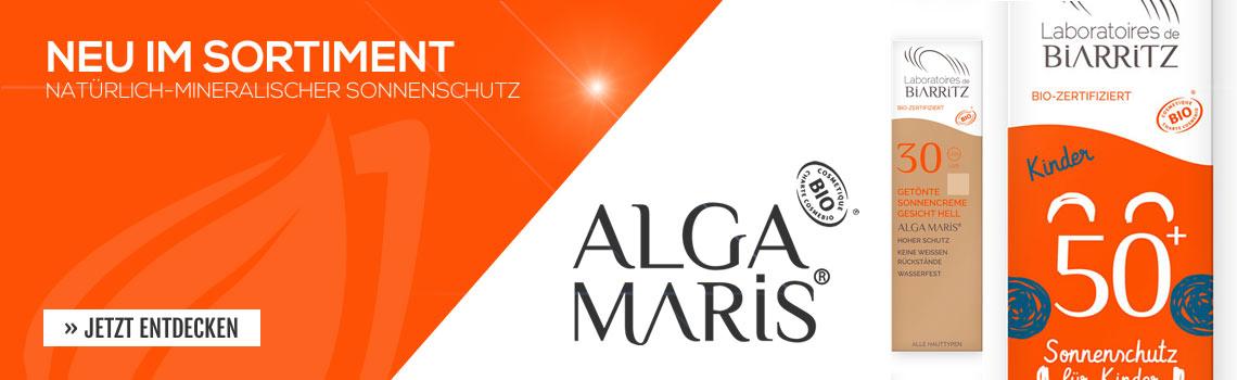 Alga Maris 100% natürlicher Sonnenschutz