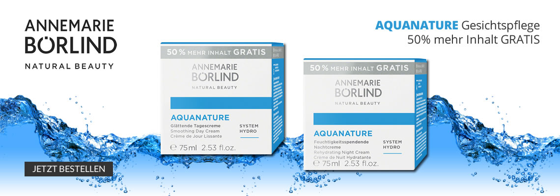 Annemarie Börlind Aquanature Aktion
