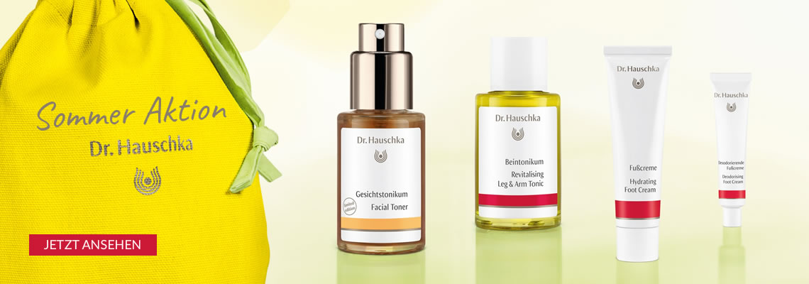 Dr. Hauschka Sommer Aktion